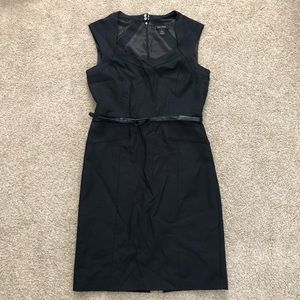 WHBM Belted Sheath Dress